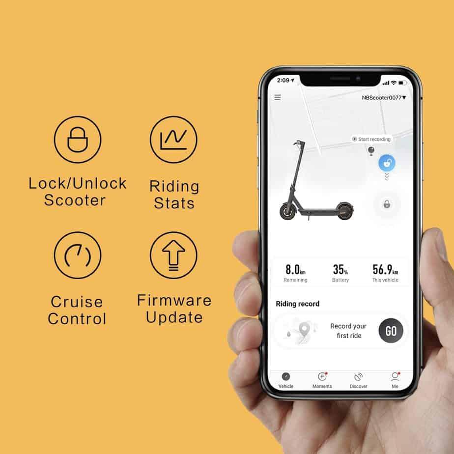 The Segway Ninebot KickScooter App
