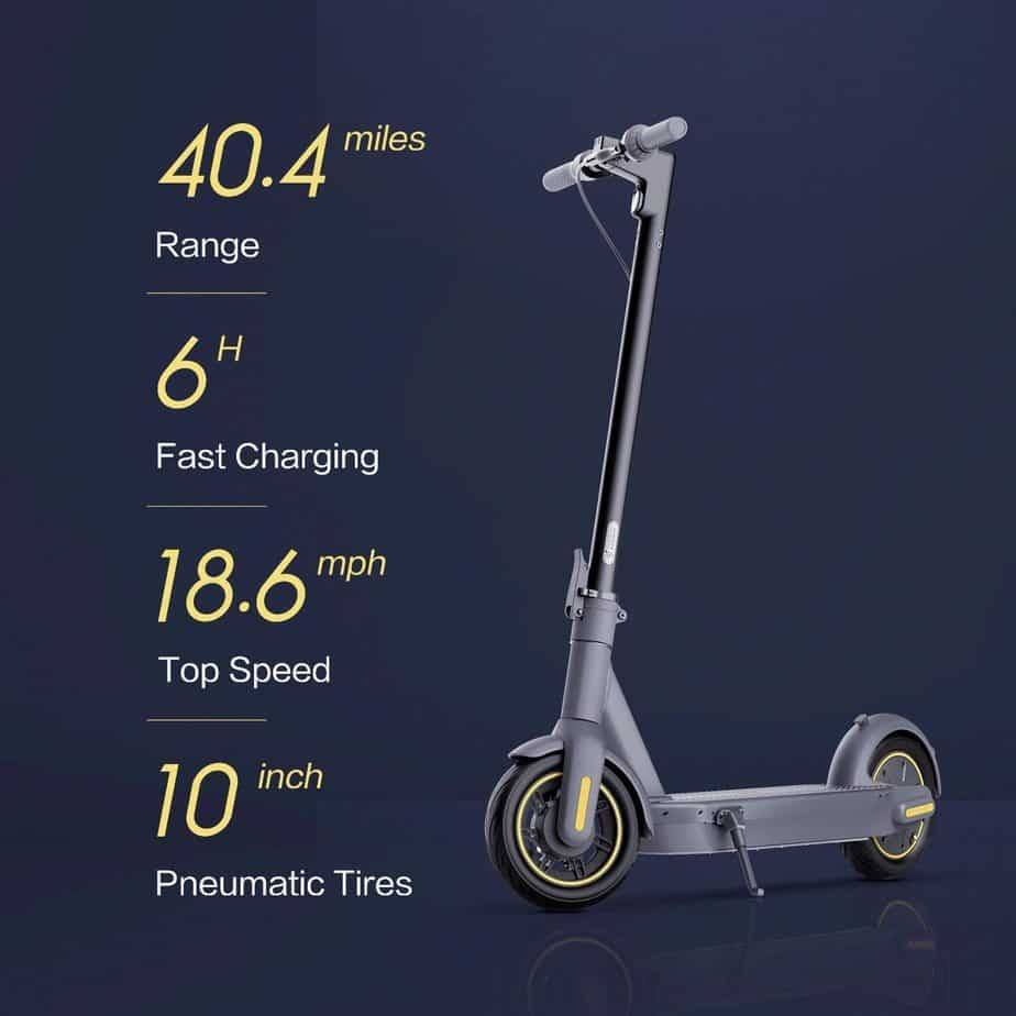 The Segway Ninebot KickScooter Details