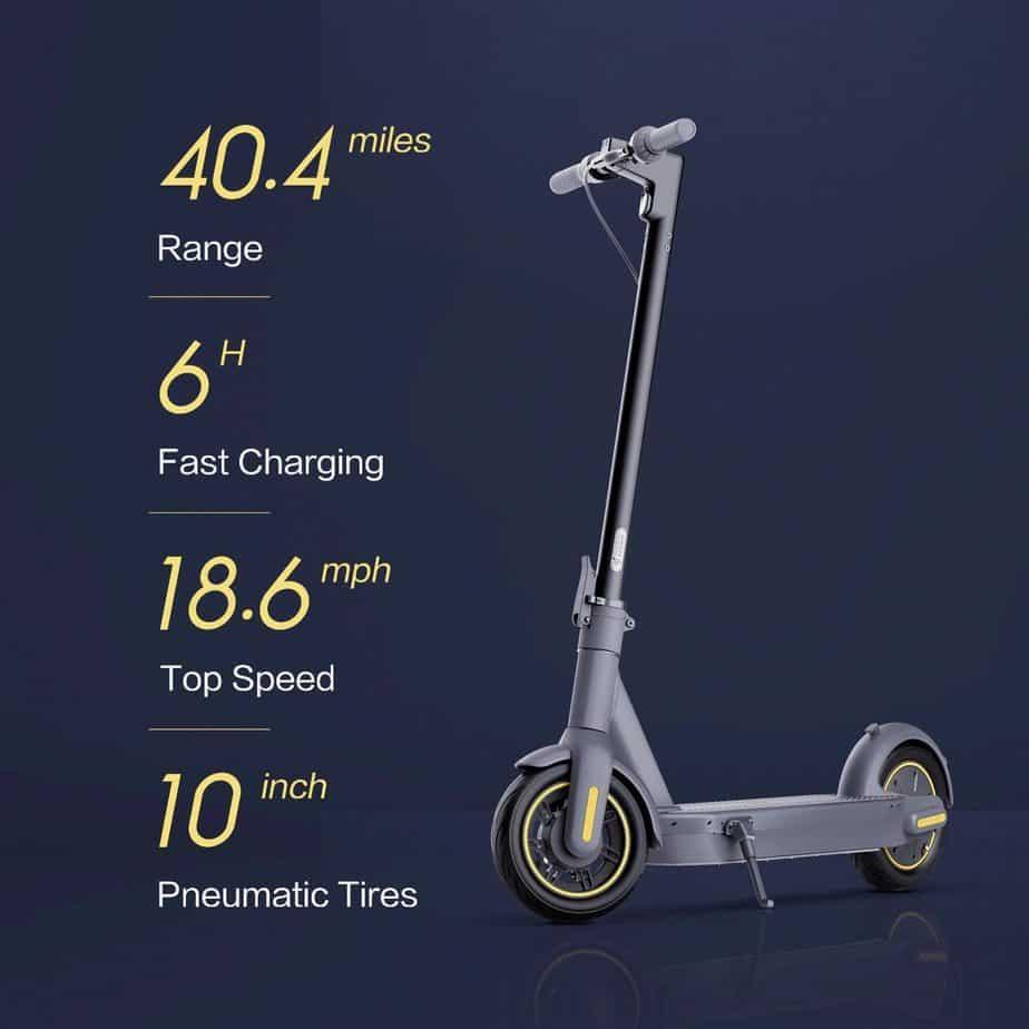 The Segway Ninebot KickScooter Details