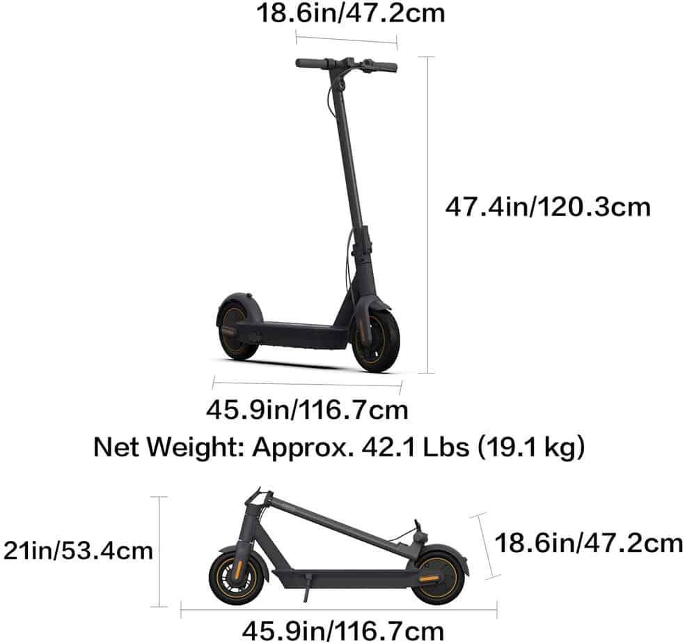 The Segway Ninebot KickScooter Electric