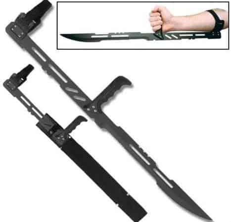Zombie Vampire Blood Armblade Sword