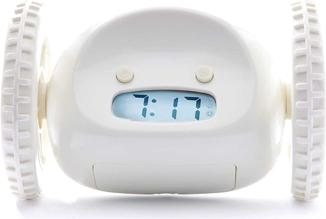 Clocky Alarm Clock on Wheels - Mobile Alarm Clock