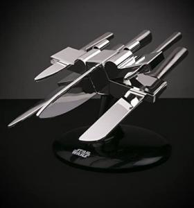 Star Wars X-Wing Knife Block- 5 Knives