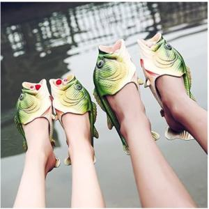 Largemouth Bass Slippers - Perfect Shoes For Fishing