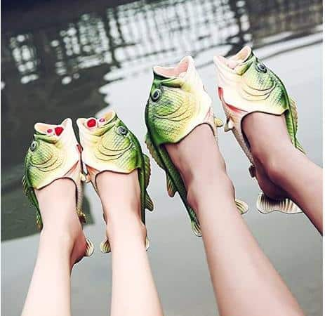 Largemouth Bass Slippers – Perfect Shoes For Fishing
