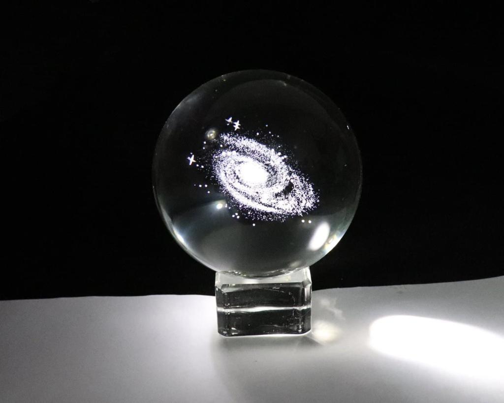 Galaxy In A Crystal Ball – Gift For Nerds