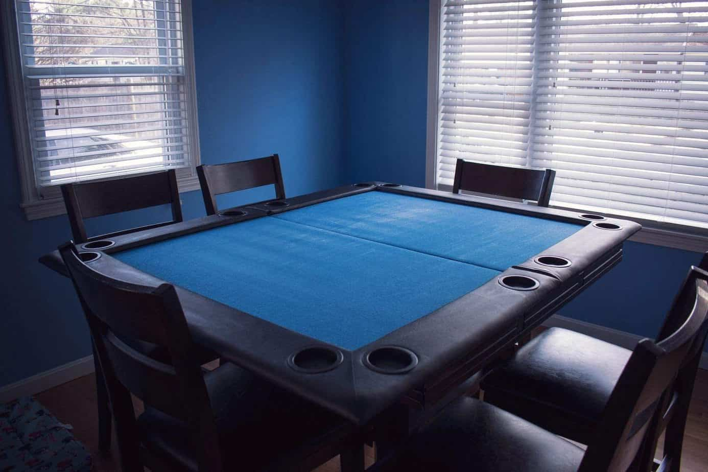 Game Night Table Topper - Poker In Man-Cave