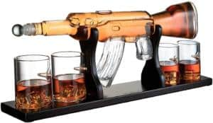 AR-15 Rifle Whiskey Decanter - Man Cave Gifts