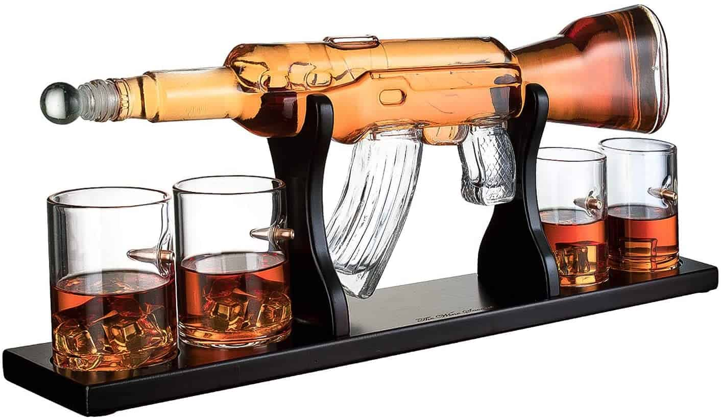 AR-15 Rifle Whiskey Decanter
