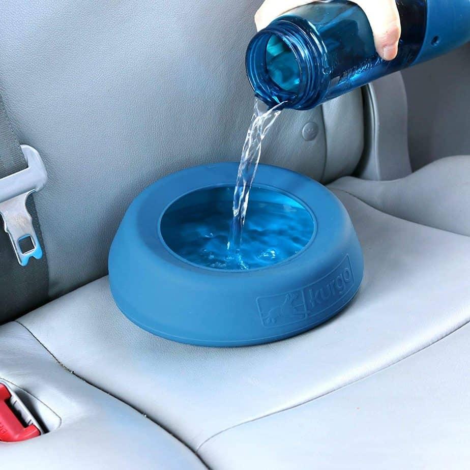 Travel Dog Bowl Food Water