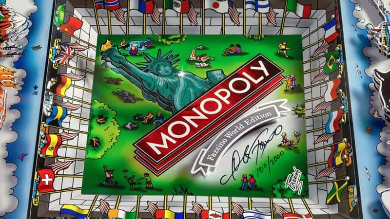 Monopoly World Edition – Family Board Game