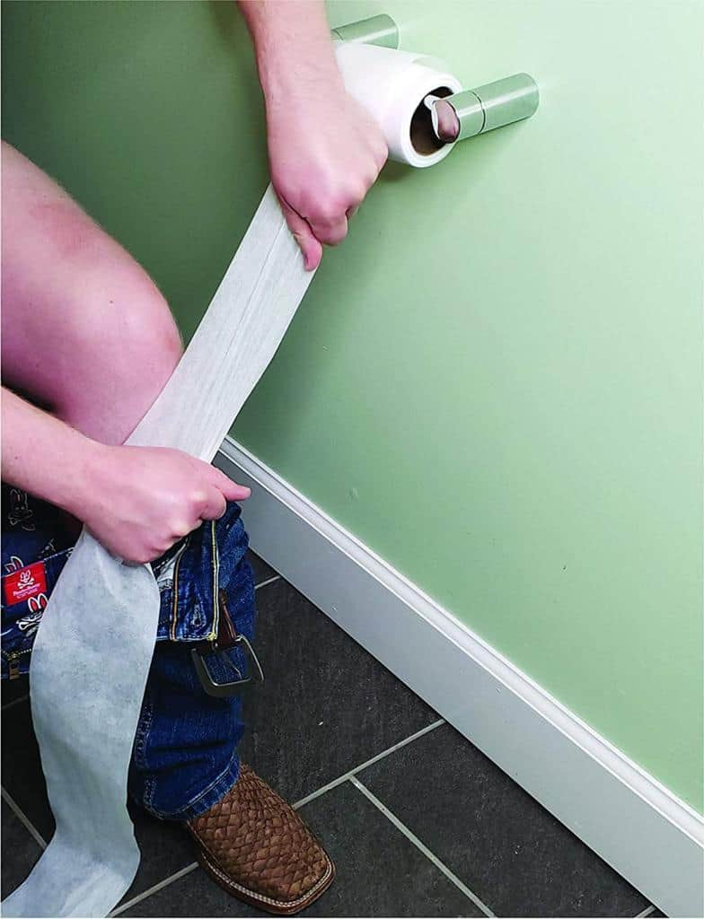 'No Tear' Funny Prank Toilet Paper - Impossible to Rip
