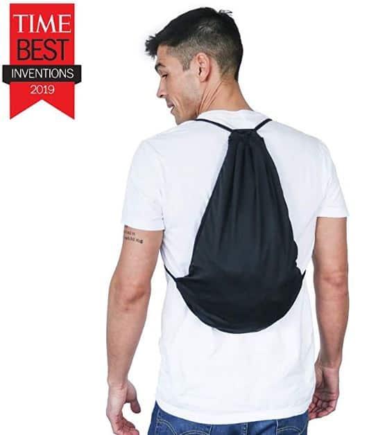 Quikflip 2-in-1 Reversible Backpack Hoodie (As Seen on Shark Tank) Unisex Full-Zip Hero Hoodie As Seen On Shark Tank