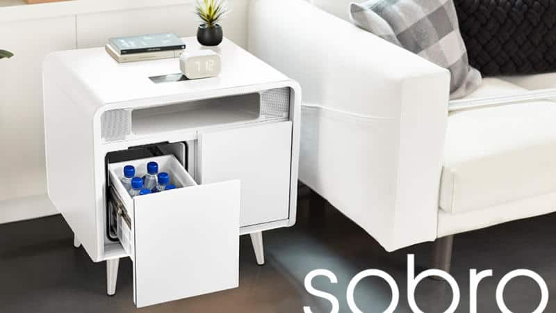 Sobro Smart Side Table – Office & Man-Cave Furniture