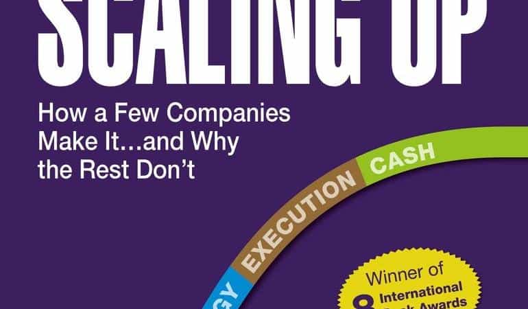 Scaling Up: How a Few Companies Make It…