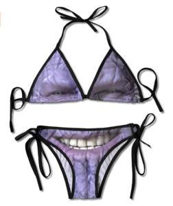 Thanos Face Bikini - Women's Swimwear