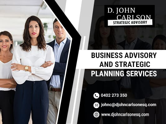 Business Advisory and Strategic Planning Services
