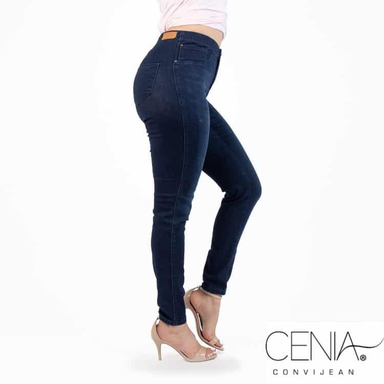 CCJ6006 DK Indigo Cenia Convi Jean Signature Style New