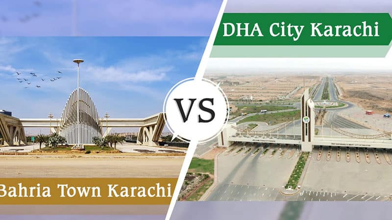 Bahria Town or DHA Karachi, which one is a better option?