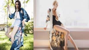 Women's Charmeuse Kimono Robe