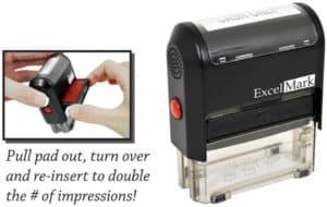 Excel Mark Self-Inking Stamp