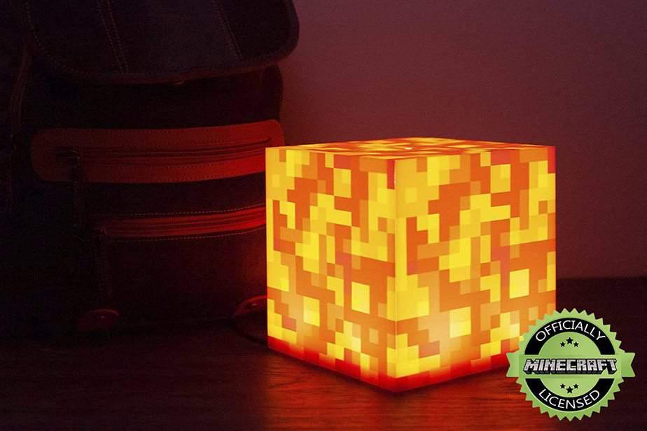 Minecraft Lava Lamp