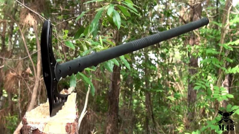 M48 Kommando Tactical Hiking Staff & Survival Axe