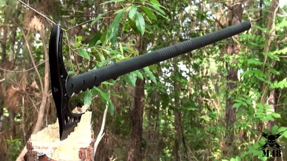 M48 Kommando Survival Axe Tactical Hiking Staff