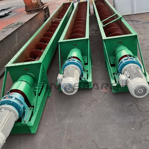 custom cement screw conveyor