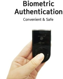 D'CENT Biometric Cryptocurrency Hardware Wallet