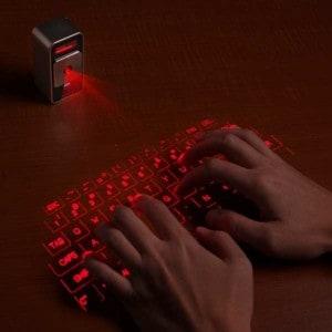 Cube Laser Virtual Keyboard