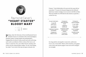 How to Drink Like a Writer - Heart Starter Bloody Mary