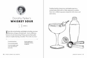 How to Drink Like a Writer - Whiskey Sour Recipe