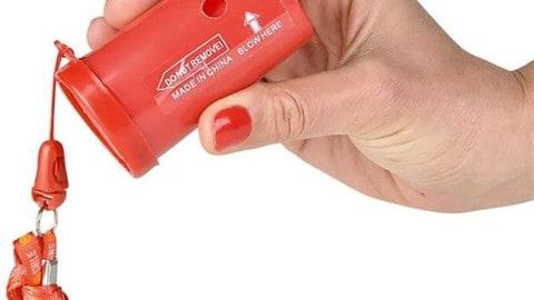 Kicko 3-Inch Air Horn – Small Emergency Horn