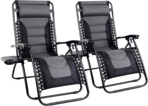 Zero Gravity Chair Large Patio Lounge Recliners