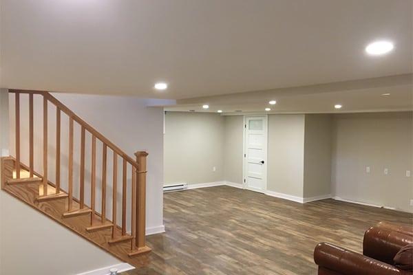 basement office renovation