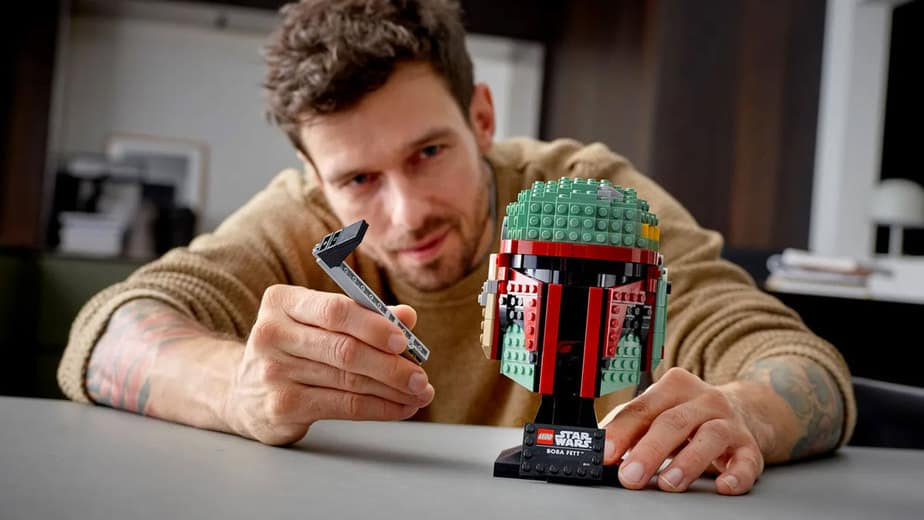 LEGO Star Wars Sculptural Helmets