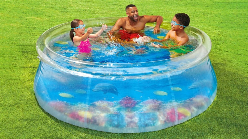 Transparent Inflatable Pool