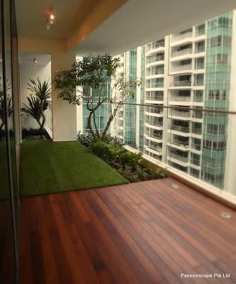 Balconey Garden Design Singapore